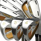 Japan Epron TRG 4-Sw Iron Matrix Stain Steel Chrome Golf Club Set