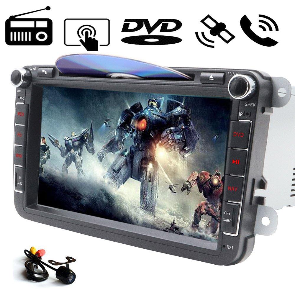 In Dash - Reproductor de DVD para coche, pantalla táctil ...