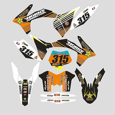 Jfg Racing Custom Motorrad Komplettkleber Aufkleber Aufkleber Grafik Kit Für 125 150 250 350 450 Sx X F Sxf Xc Xc F Xcf 2011 2012 Küche Haushalt