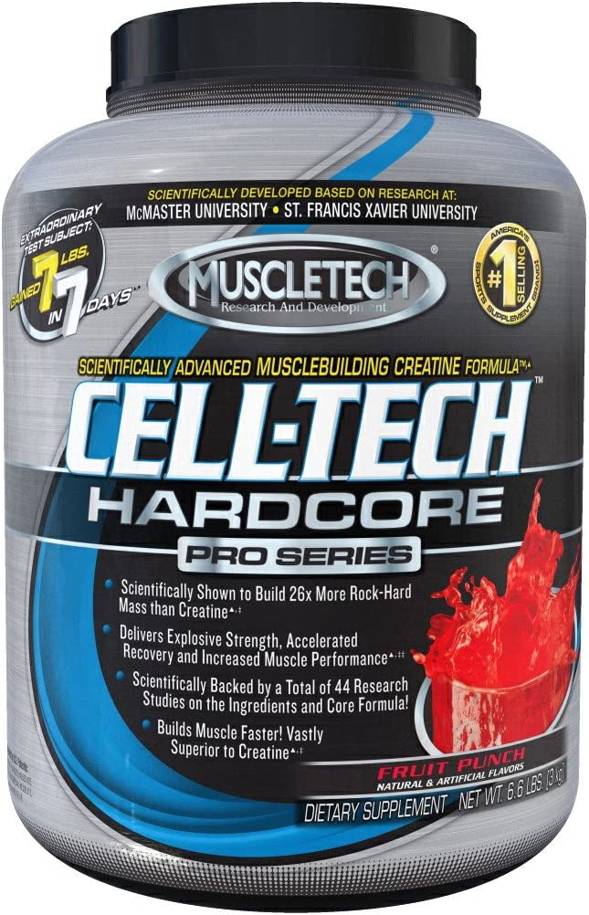muscletech cell tech hardcore orange