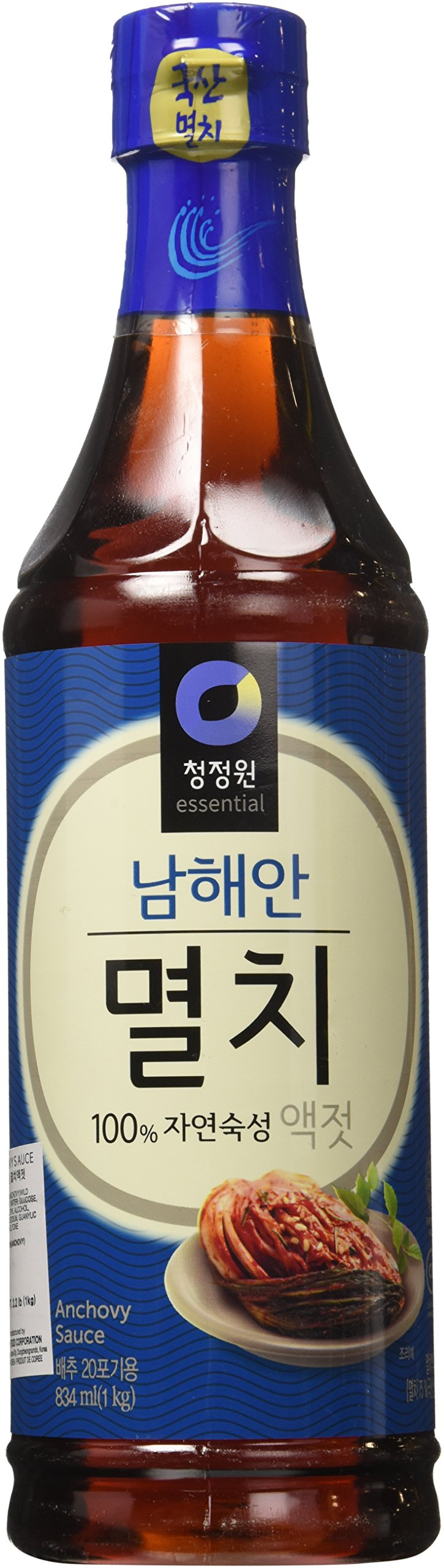 Anchovy Fish Sauce (2.2 Lb) By Chung-Jung-One