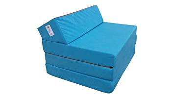 Natalia Spzoo El sillón de colchón Plegable para Invitados con Forma de sillón sofá Cama Plegable