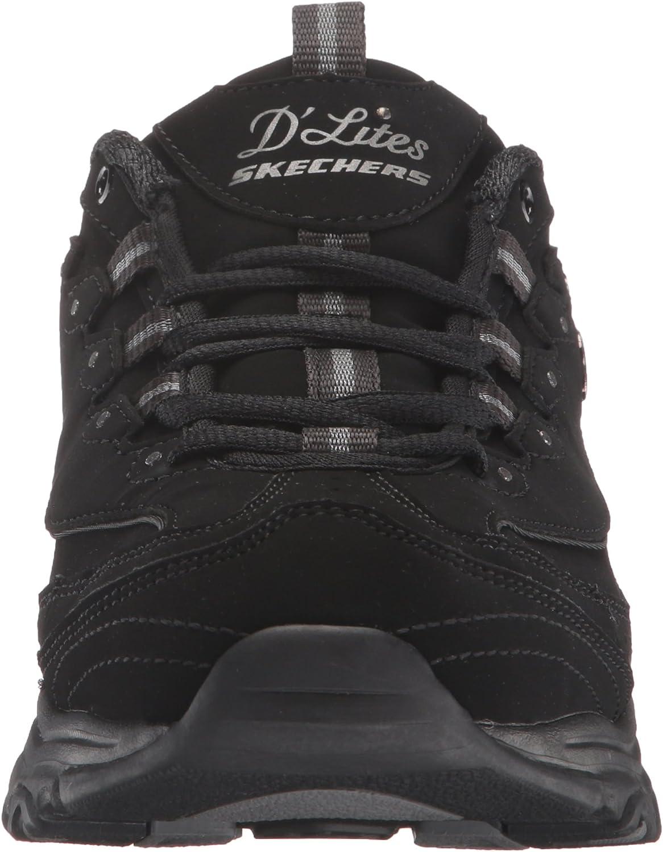 Skechers D\'litescentennial, Basket Femme Black