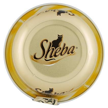 SHEBA 80 gr. umido trancetti pollo - La comida para gatos