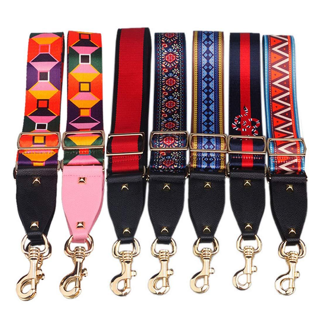 Women Wide Shoulder Strap Bag Accessories Nylon Letter Design Bag Straps Adjustable Belt For Shoulder Bag Belts Wide And Soft 18 Other