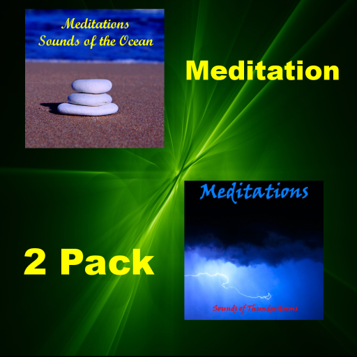 Meditations 2 Pack - Sounds Of The Oceans And Sounds Of Thunderstorms: Amazon.es: Appstore para Android