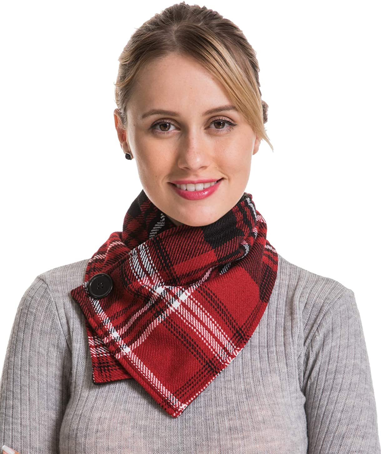 Plaid Wrap Infinity Scarf...