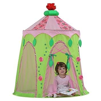 Dream House Kids Hideaway Princess Pop up Tents Indoor Playhouses  sc 1 st  Amazon.com & Amazon.com: Dream House Kids Hideaway Princess Pop up Tents Indoor ...