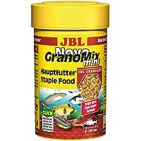 JBL NovoGranoMix 30099 Compleet voer voor kleine aquariumvissen, navuldoos granulaat, 100 ml