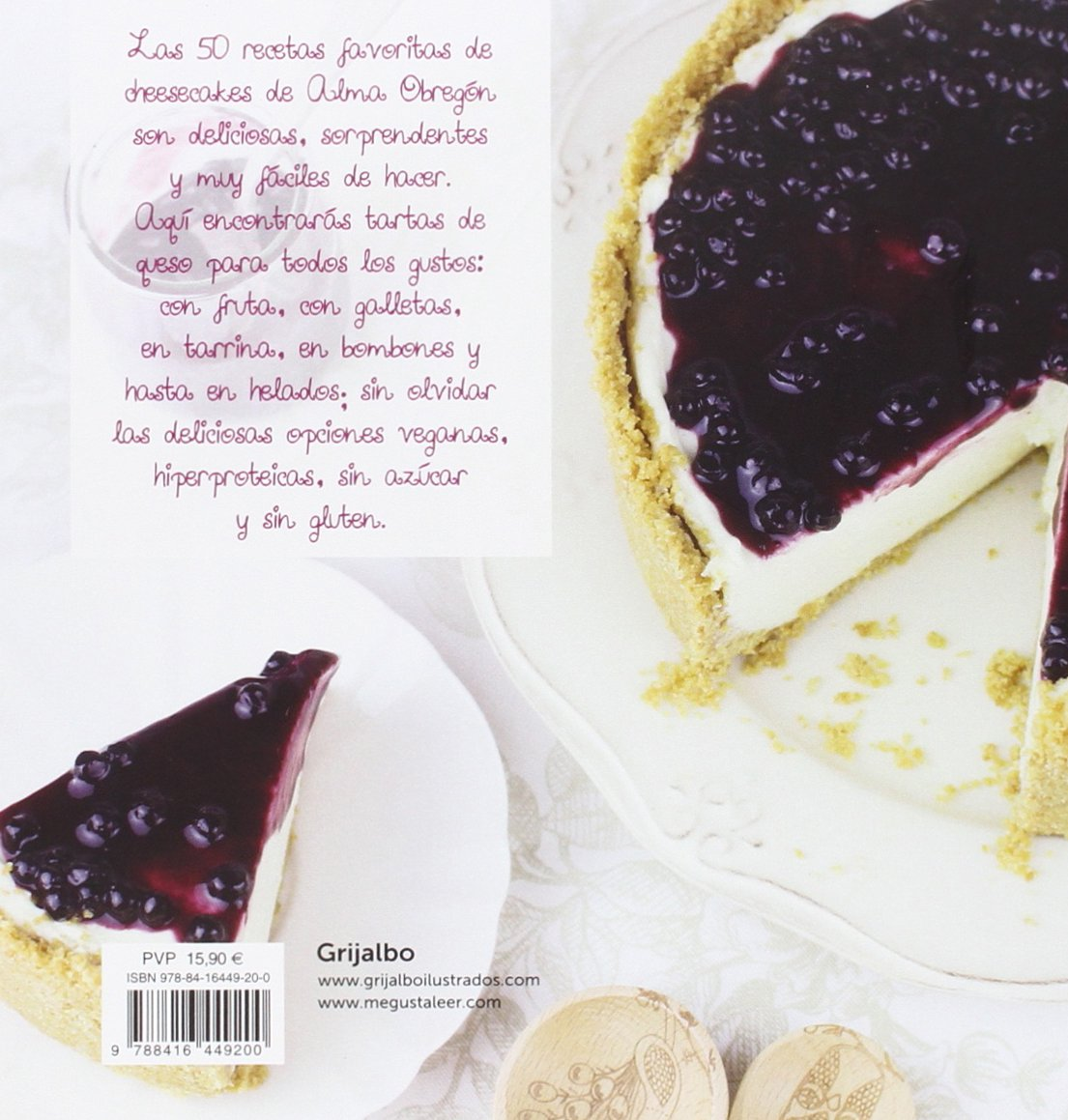 Objetivo: Cheesecake perfecto/Objective: Perfect Cheesecake (Spanish Edition): Alma Obregon: 9788416449200: Amazon.com: Books