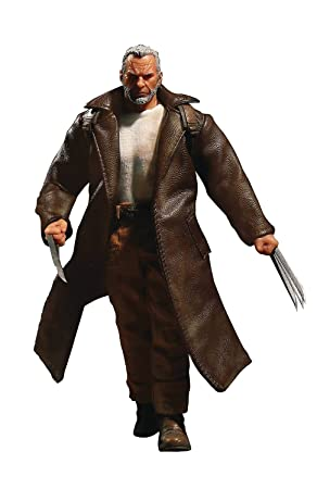 amazon one 12 collective old man logan action figure ロボット