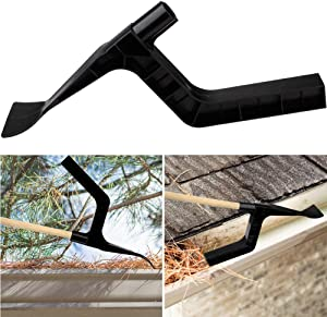 Nuxn Gutter Cleaner Gutter Cleaning Tool Spoon and Scoop Pick Up Debris and Leaves Perfect for Gutter Guards Cleaning and Garden