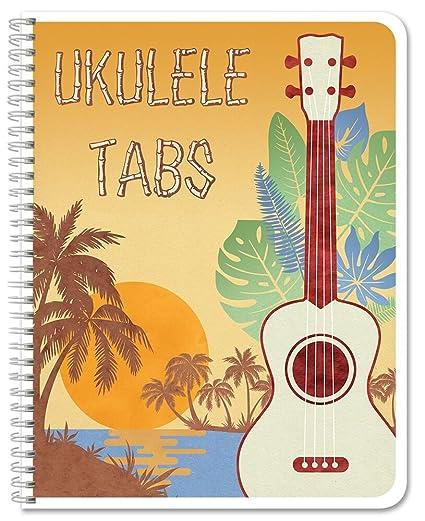 Amazon Bookfactory Ukulele Tablature Notebook Ukulele