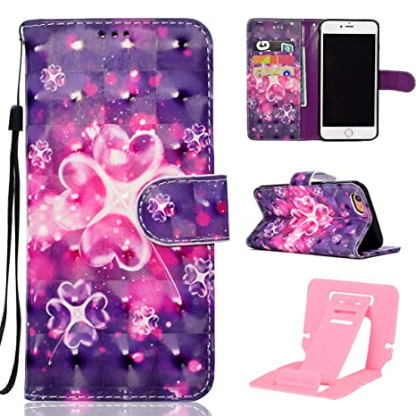 cover iphone 6 custodia a libro con fantasie