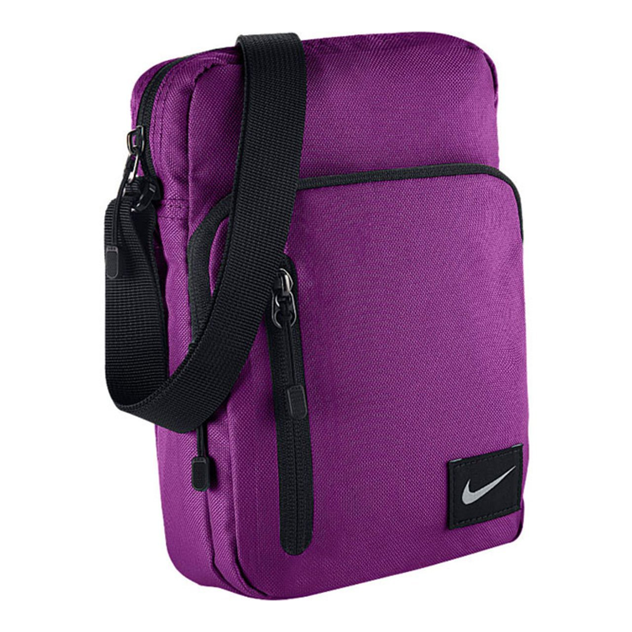 dab177267b0 Nike Core Small Items II Shoulder Bag for Hombr, One Size, Unisex adult, Core  Small Items Ii, violet black, one size  Amazon.co.uk  Sports   Outdoors