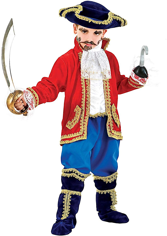 Disfraz CAPITN Beb Vestido Fiesta de Carnaval Fancy Dress Disfraces Halloween Cosplay Veneziano Party 1059