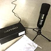 usb microphone zaffiro computer microphone plug play studio pc microphone for. Black Bedroom Furniture Sets. Home Design Ideas