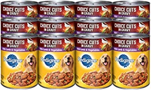Pedigree 12 Piece Cut Lamb And Veg Pet Treat, 22 Oz