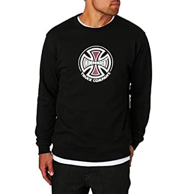 Sudadera Independent: Crew truck Co BK M