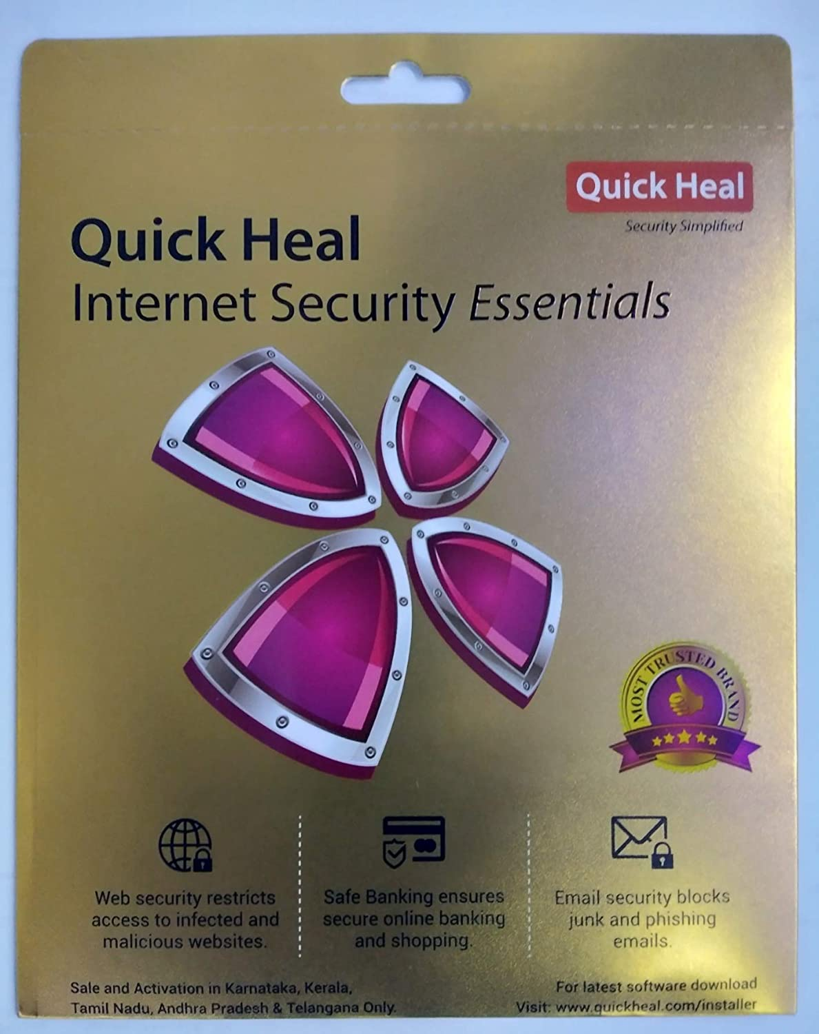 Quick Heal Internet Security Essential Amazon In Software