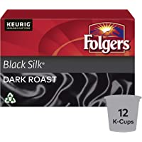 Folgers Black Silk K-Cup Coffee Pods 12 Count