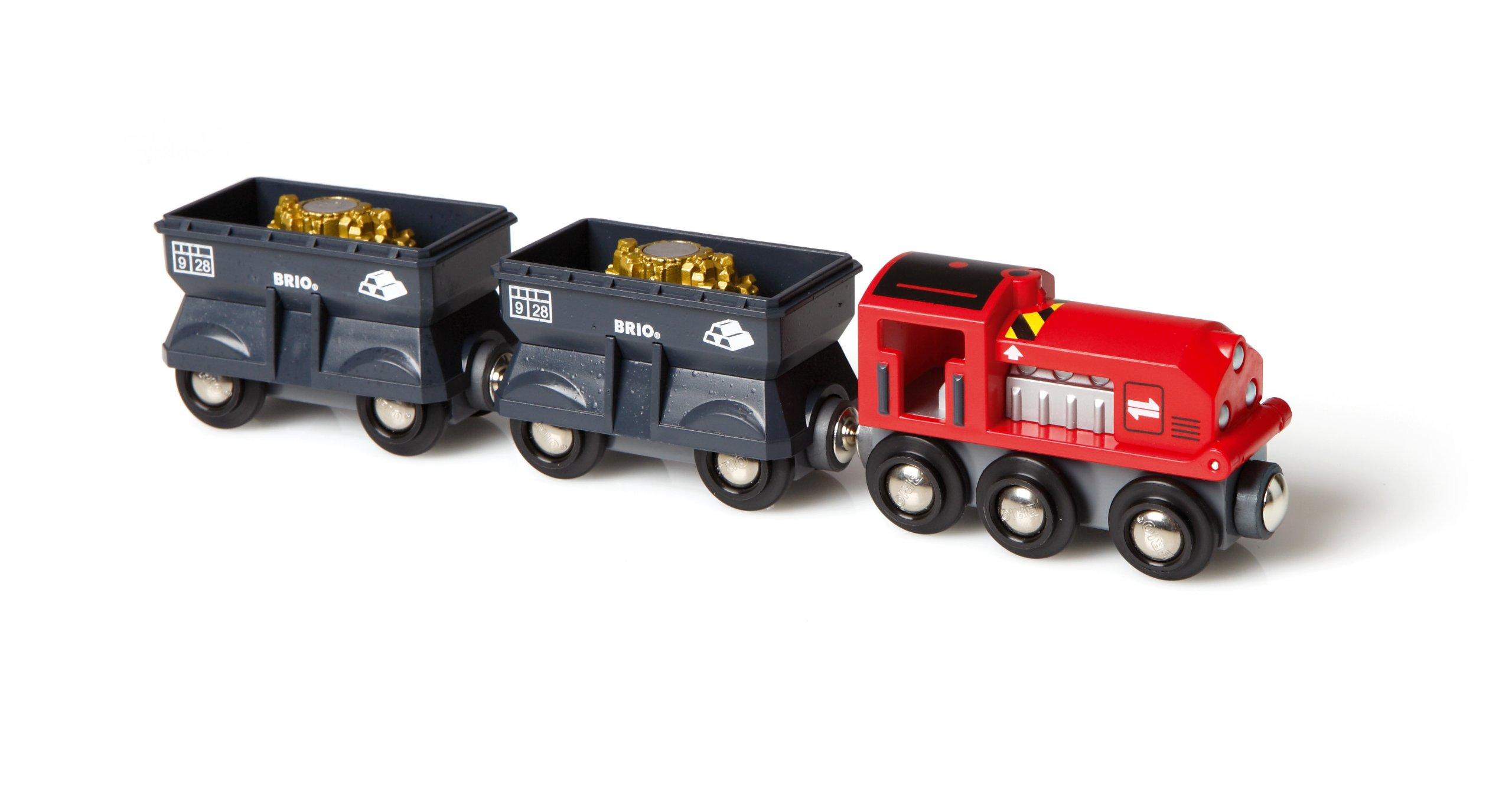 BRIO Gold Mining Train