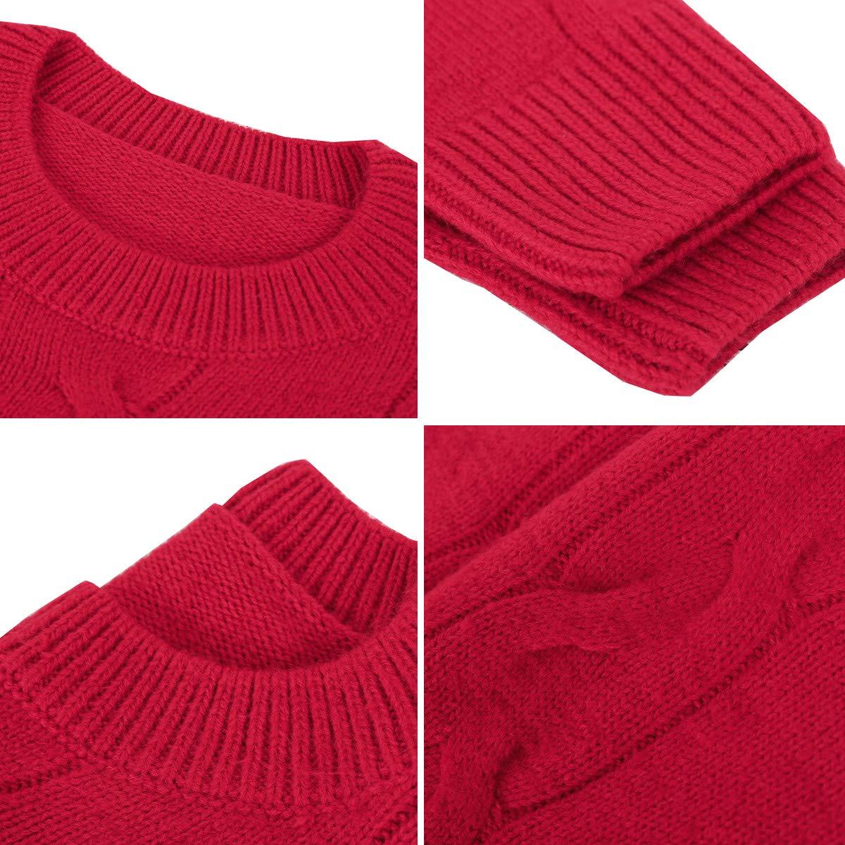 Short Sweater (Red, Medium)