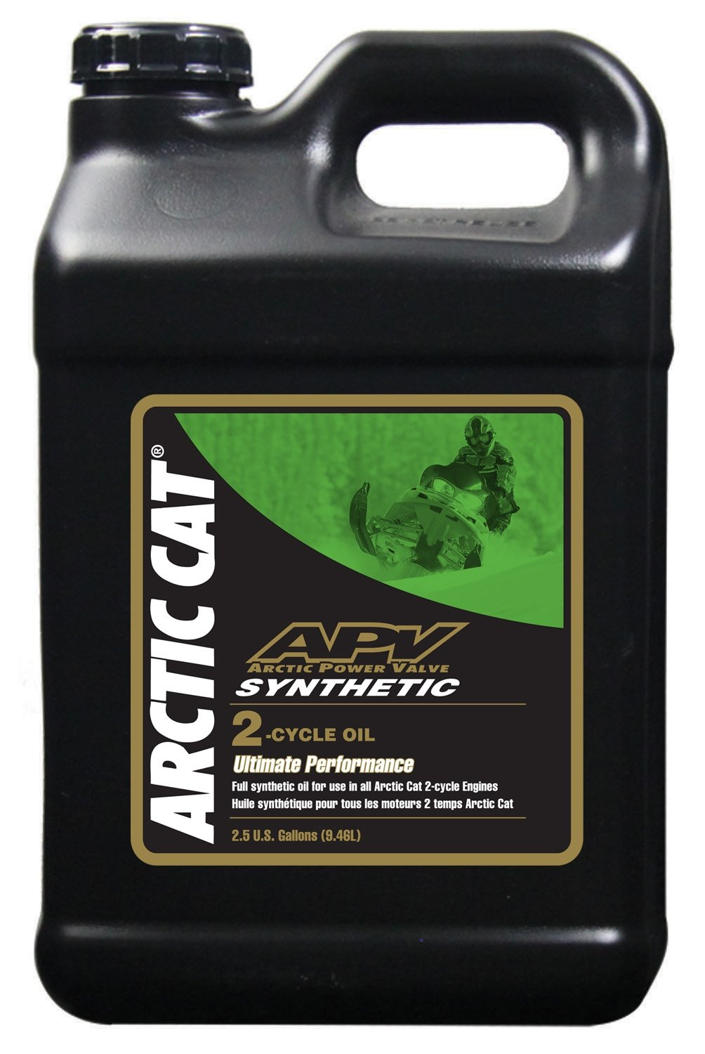 Arctic Cat APV Synthetic 2-Stroke Injection Oil - 2.5 Gallon