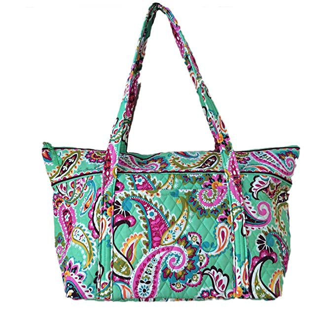 Vera Bradley Miller Bag in Tutti Frutti with Solid Pink Interior ... 2a8ea8d552
