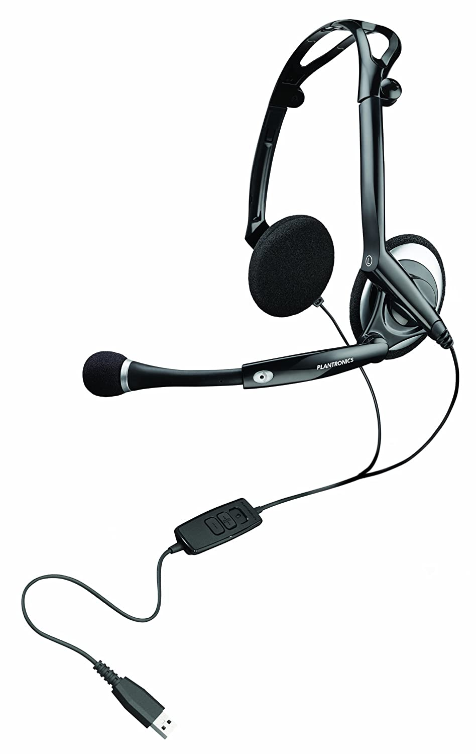 Plantronics Audio 400 DSP faltbares Digital USB-Stereo-Headset 76921-15