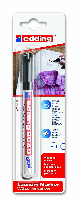 Edding 9008001 Marqueur spé cial tissu 8040 4-8040-1-4001