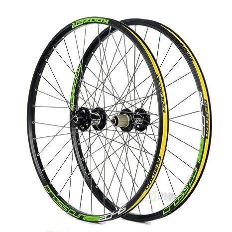 """koozer xf2046 26 """"Discos de ruedas bicicleta de montaña MTB Carretera Ruedas 9 x"""