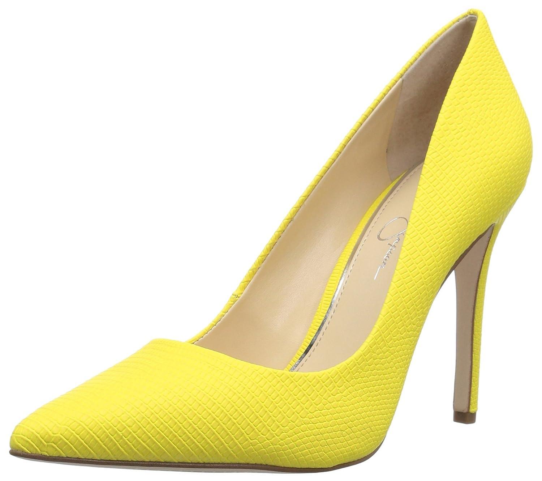 Jessica Simpson Women's Praylee Pump B079Z6566R 5 B(M) US|Sour Lemon