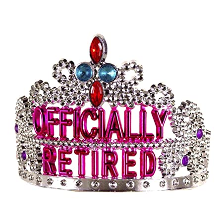 Retirement Party Tiara