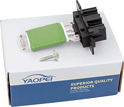 YAOPEI 77364061 - Resistencia del Ventilador del Motor del ...