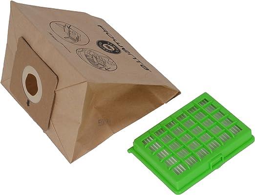 Rowenta ZR004101 Bolsas de polvo para aspiradores de trineo: Amazon.es: Hogar