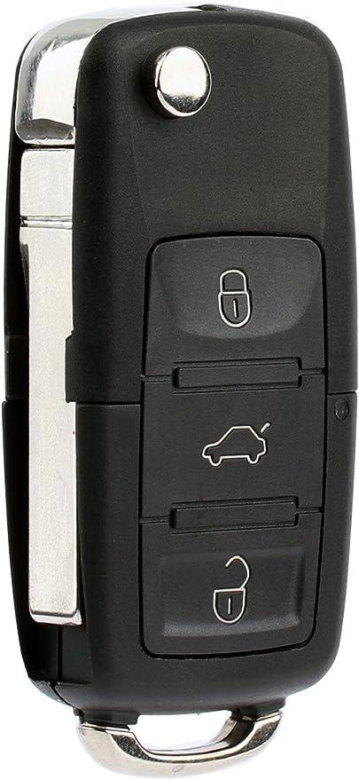 2 New Replacement Remote Key Fob Flip For Volkswagen *+Read Description+*+