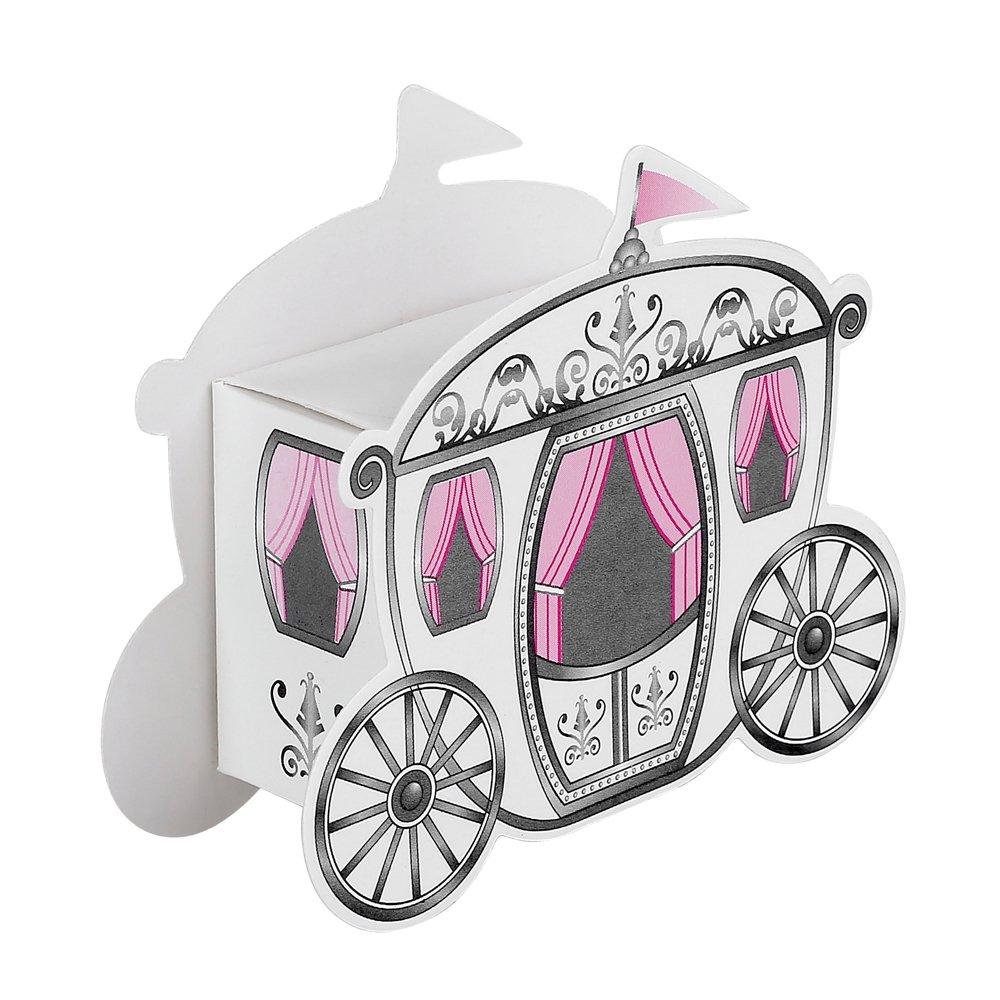 Amazon.com: 30pcs DIY Paper Carriage Wedding Favor Boxes Baby Shower ...
