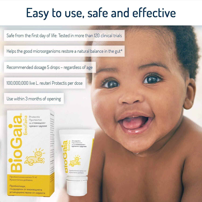 For 5ml Drops Safe Biogaia Protectis Baby Probiotic children Colic S77p1qw