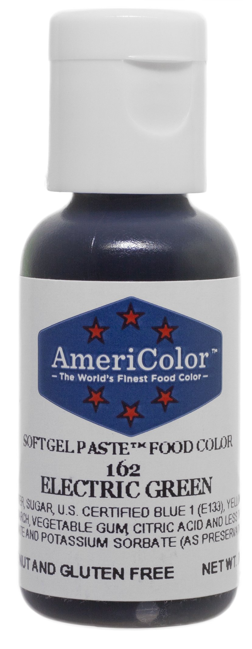 Americolor Gel Paste Food Color, Electric Green