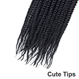 "Befunny 3Packs 18"" Senegalese Twist Crochet"