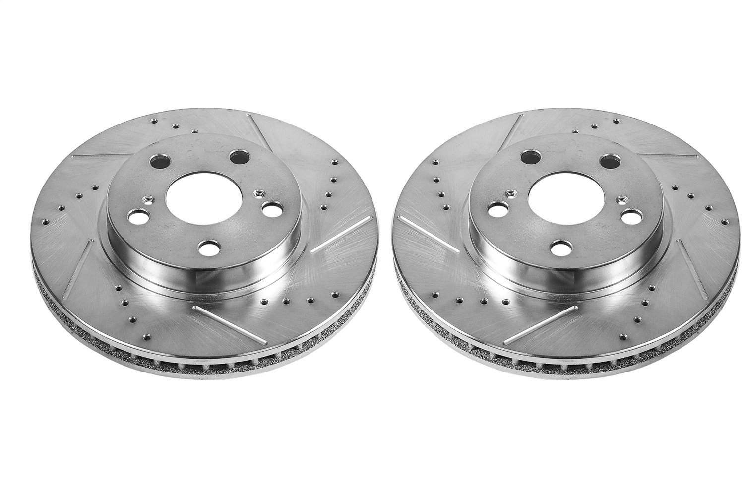 Power Stop EBR1210XPR Drilled and Slotted Brake Rotors