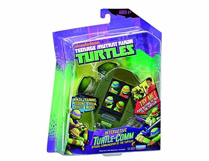 Amazon.com: Tortues ninja – Interactivo turtle-comm – T ...
