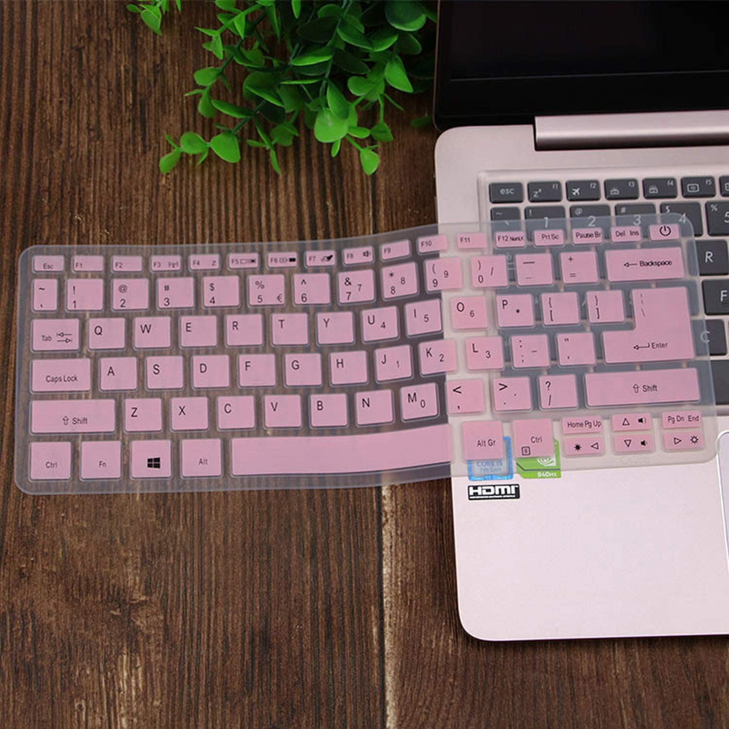 for Acer Swift Sf113 S5 371 Sf514 Sf5 Swift 5 Swift 3 Aspire S13 14 Sf314 Spin 5 13.3 Laptop Keyboard Cover Skin Protector-in Keyboard Covers from Computer /& Office,Pink