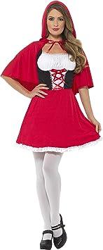 Smiffys Smiffys-44685X1 Disfraz de Caperucita Roja, con Vestido ...