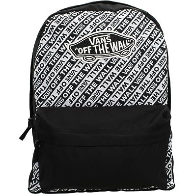 76c359b17da Vans ZAINI WM Realm Brand Stripe - Black/White (One Size): Amazon.co ...