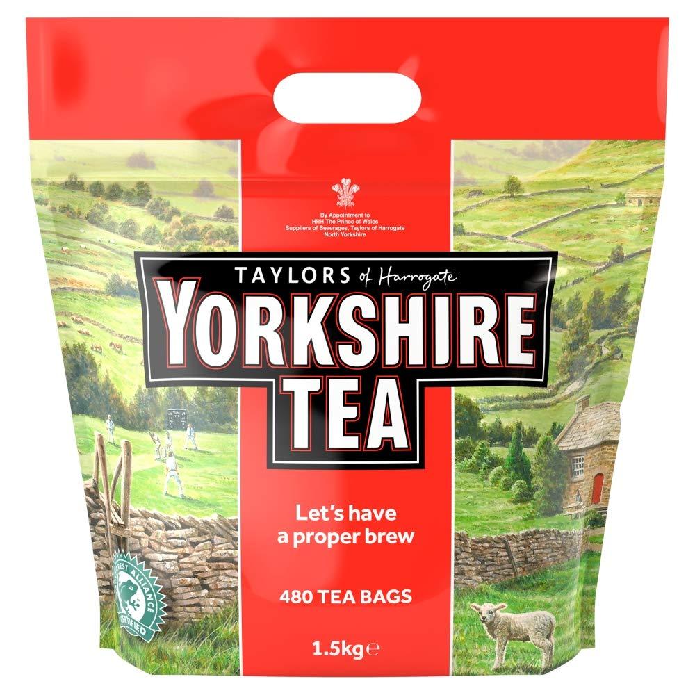 Taylors of Harrogate Yorkshire Tea 480 Count by Yorkshire Tea