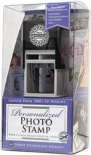 product image for Three Designing Women Custom Self-Inking Photo Stamp