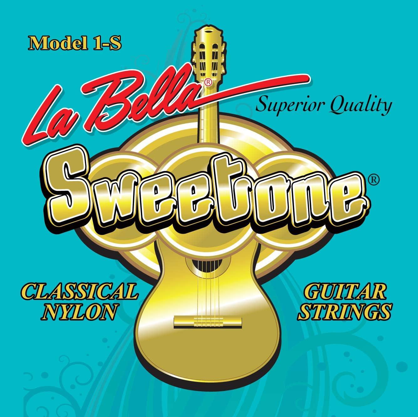Cuerdas para guitarra clásica La Bella Sweetone.