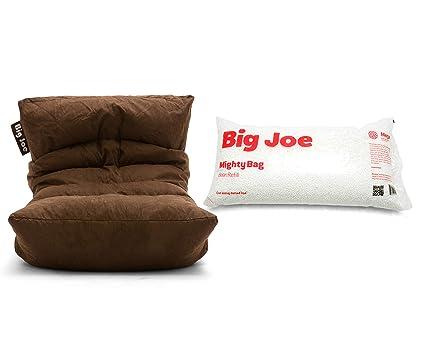 Outstanding Amazon Com Big Joe Roma Floor Bean Bag Chair Bundle Megahh Unemploymentrelief Wooden Chair Designs For Living Room Unemploymentrelieforg